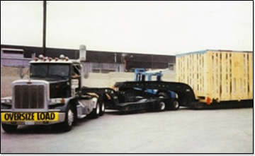Large Wide-Load Truck